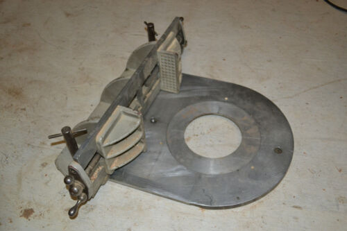 RARE KINDT COLLINS Patternmakers Core box attachment for MASTER SPINDLE SANDER