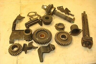 1953 Oliver 77 Tractor Transmission Gears Shifters Forks Parts