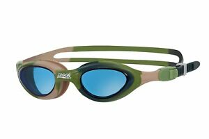 Zoggs Junior Super Seal Swimming Goggles Green for 6-14 Years with UV Protection