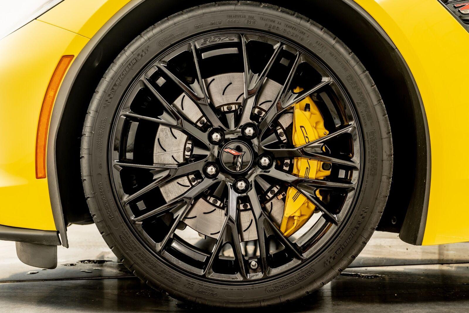2016 Yellow Chevrolet Corvette Z06  | C7 Corvette Photo 9