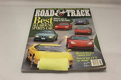 CAR AND DRIVER: BEST ALL-AROUND SPORTS CAR JULY 1998 (OAK9677-1 [BOX T]