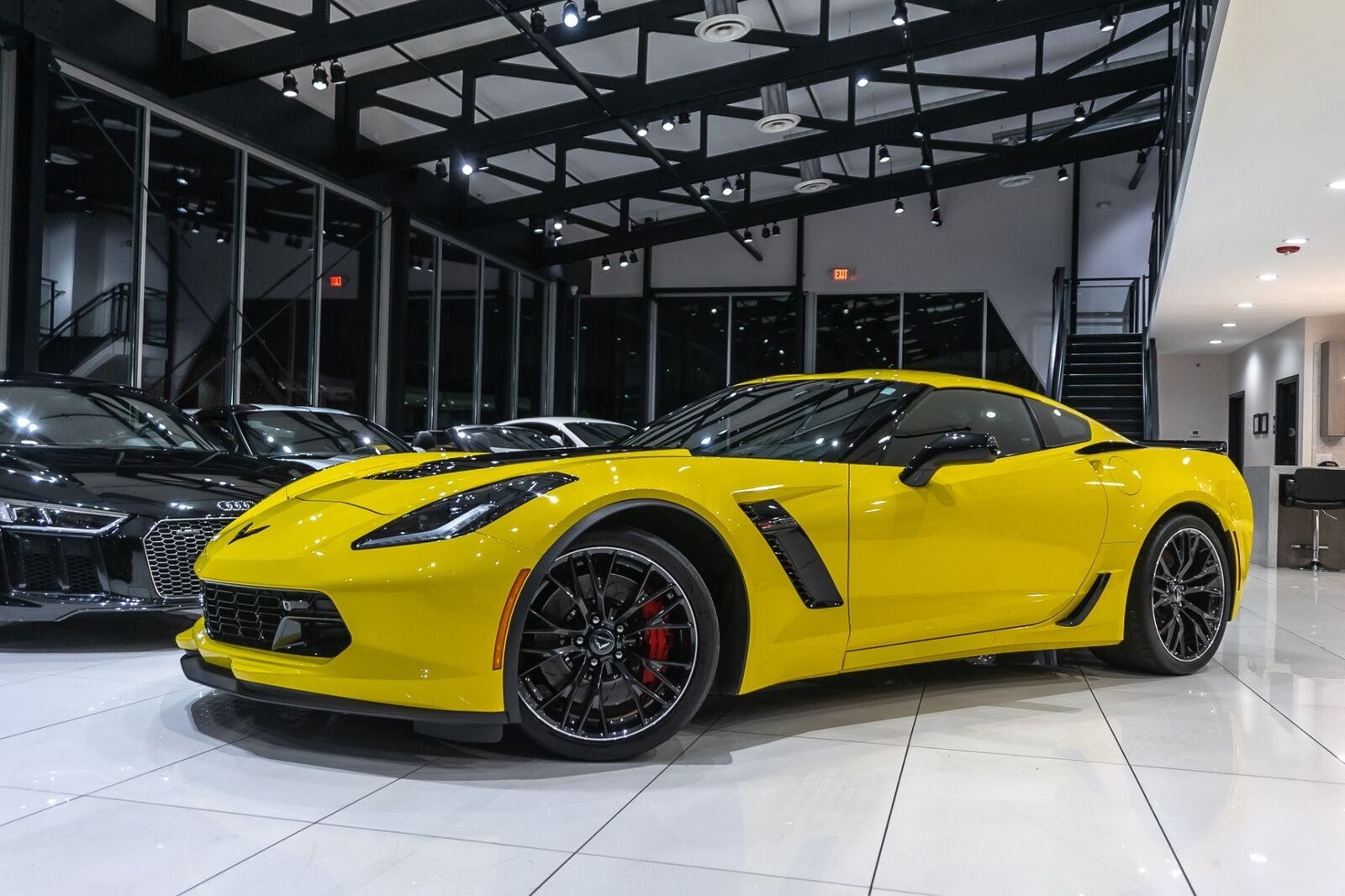 2016 Yellow Chevrolet Corvette Coupe 2LZ   C7 Corvette Photo 2