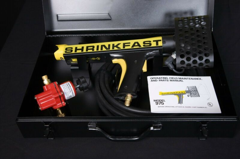 Shrinkfast 975 Heat Gun for Shrink Wrap & Shrink Film