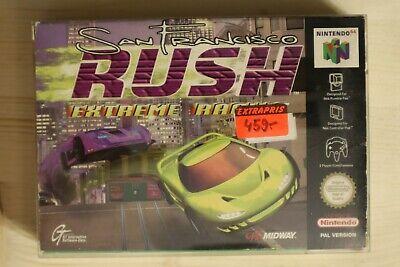 San Francisco Rush: Extreme Racing - OVP/Boxed Nintendo 64 N64 PAL