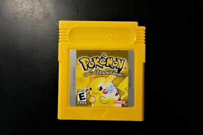 Nintendo Gameboy Pokemon Yellow Special Pikachu Edition (Game Boy, 1999). TESTED