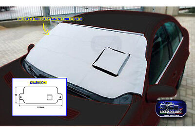 Antighiaccio parabrezza telo auto protezione vetro da neve brina sole ghiaccio 1