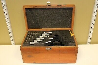 Starrett 6 Piece Outside Micrometer Set 0-6