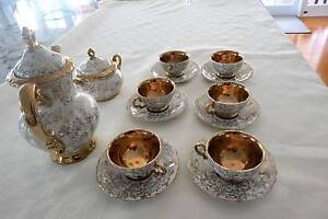 Beautiful Gold Crown Japanese Tea Set Ashgrove Brisbane North West Preview