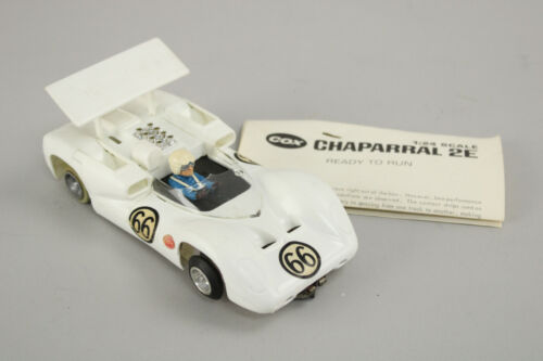 Vintage Cox 1:24 Scale Chaparral 2E Slot Car - All Original - Working!