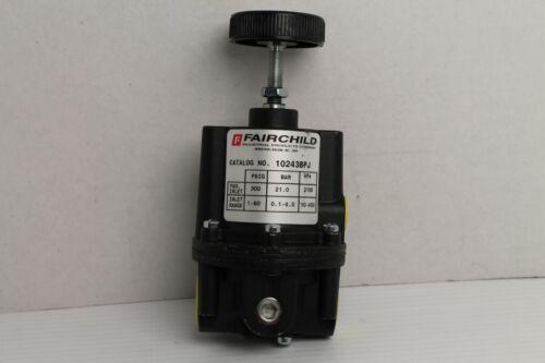 FAIRCHILD 10243BPJ Back Pressure Regulator