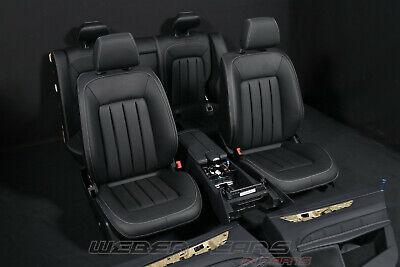 Mercedes CLS W218 C218 MOPF Leder Ausstattung Memory Sitze gelocht schwarz 50km