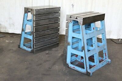 2 39-38 High X 31 Wide G L T-slotted Angle Plates Yoder 70512