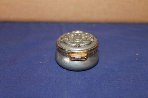 Vintage (Rare design) Royal Selangor pewter Trinket pot with hinged Lid