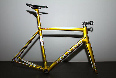 2016 New Colnago Ferrari V1-R Carbon Road Bike Frameset UNRD 56s GOLD MSRP $4599