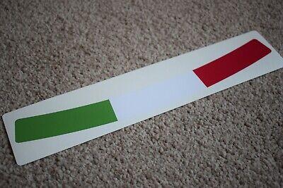 Italy Flag Helmet Visor Sunstrip Sticker Motorcycle Italian Bike Vespa Ducati