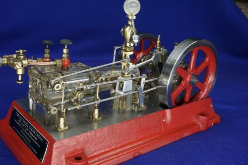 Corliss with Slide Valve Combination Steam Engine