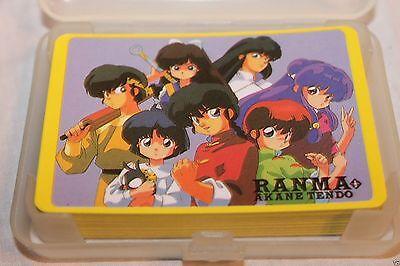 Ranma Akane Tendo Playing Card Deck  FREE SHIPPING