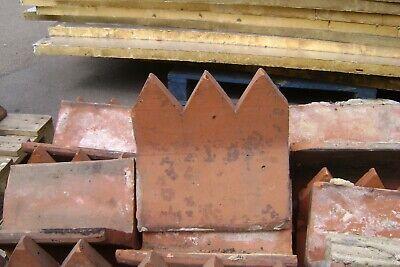 ROOF RIDGE TILES DECORATED 300 X 300 X 240