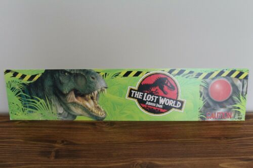 Jurassic Park The Lost World 1997 Wal-Mart Advertisement Promotional Sign promo