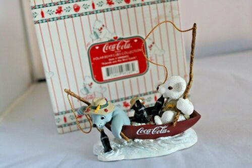 Coca Cola Polar Bear Cubs Collection Friends are the best Catch 1998 Figure