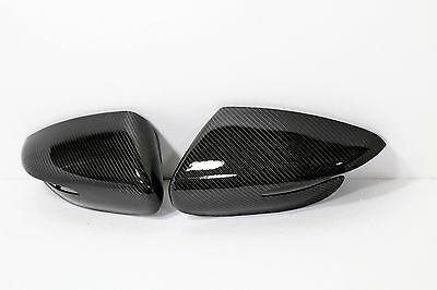 Real Carbon 3D Black Side Mirror Cover for KIA 2014 - 2017 Forte & Forte 5