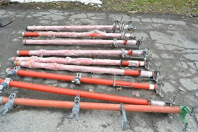 Lot Of 9 A B Chance Lineman Pole Extension Arms Good Condition