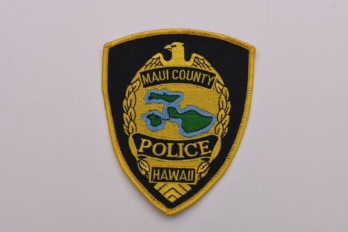 Maui Hawaii Collectible Police Shoulder Patch