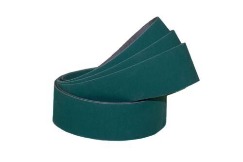 """2""""x72"""" Sanding Belts 120 Grit Premium Lubed """"J"""" Flex (5pcs)"""