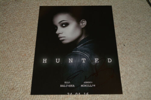 ELLA BALINSKA signed autograph In Person 8x10 HUNTED , CHARLIE'S ANGELS