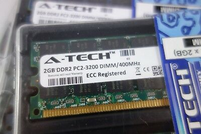 A-Tech 4GB Kit PC2-3200 DDR2 400mhz Desktop 240-pin Memory RAM ECC Registered