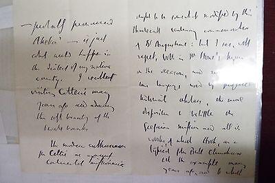 Dr. William Bright 1897 ALS