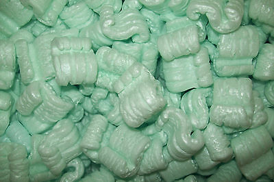 Packing Peanuts Loose Fill Anti Static Green 20 Cubic Feet150 Gallons Brand New