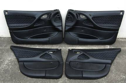 HOLDEN VY VZ COMMODORE S PACK SEDAN-SET OF 4x DOORTRIMS-BLACK.