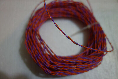 96 Ft 26 Awg Stranded 1938 Silver Plated E Teflon Twisted Pair 600v Wire