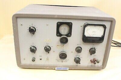 Vintage Hewlett Packard Audio Signal Generator 206a Electronic Tool