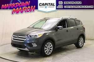 2018 Ford Escape Titanium 4WD * Leather * Sunroof * Nav *