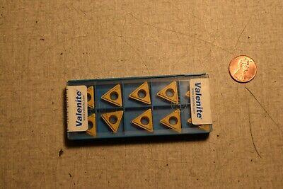 Valenite Tpmt32.52-1a Vn8 Carbide Inserts Lot Of 10