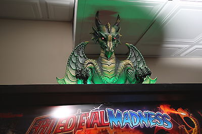 Williams/Chicago Gaming Medieval Madness, MM/MMr pinball machine Dragon Topper
