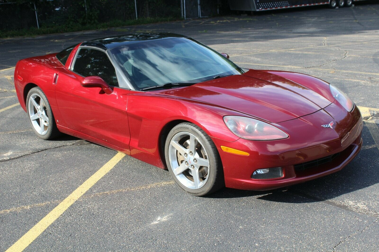 2006 Montery Red Chevrolet Corvette   | C6 Corvette Photo 1