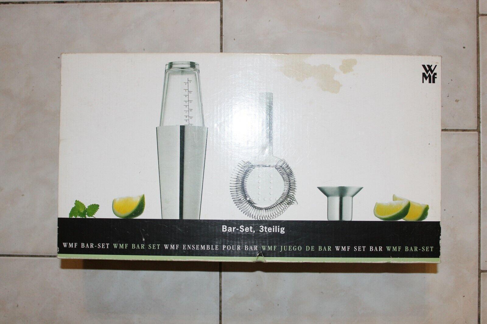 """Bar Set von WMF incl. Cocktailbuch """" 1000 Cocktails """" teils alkoholfrei"""