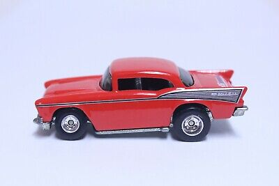 HOT WHEELS '57 CHEVY BEL AIR W/ REAL RIDERS VERY NICE JC WHITNEY