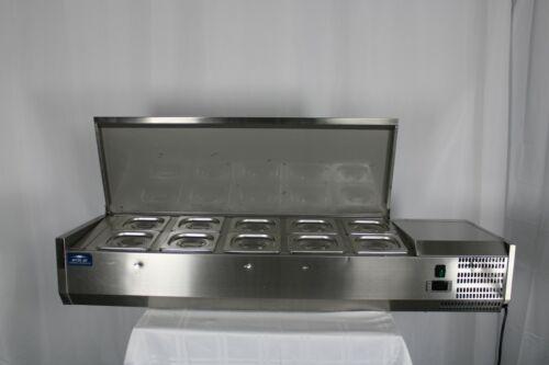 "*Ding & Dent* Arctic Air ACP55 55"" Refrigerated Counter-Top Pan Rail"