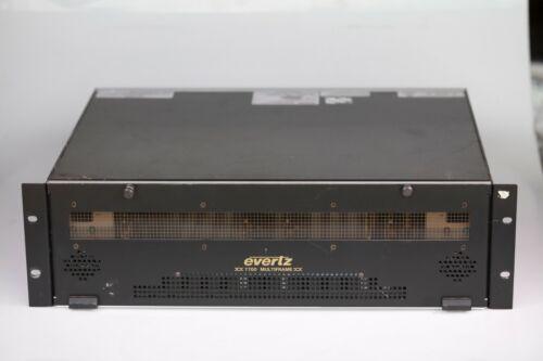Evertz 7700FR-C Multiframe w/ 5 cards including 7720AD8-DD-HD