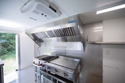 4 Mobile Concession Hood System With Exhaust Fan