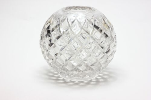Heisey Glass Rose Bowl, Pillows Pattern, United States