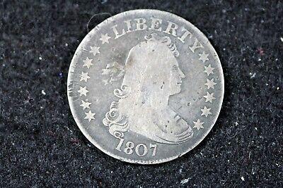 ESTATE FIND 1807 - Draped Bust Quarter Dollar!! #H16525