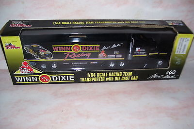 1996 Racing Champions Winn Dixie Racing Mark Martin Transporter Diecast Cab