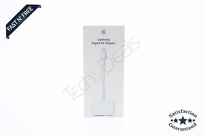 NEW SEALED Apple Lightning Digital AV Adapter (Lightning To HDMI) Genuine