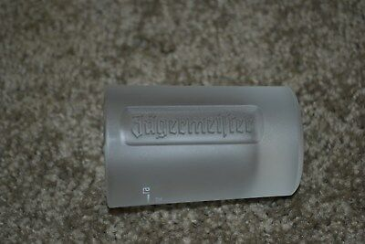 Jagermeister 1 oz. Etched & Frosted Shot Glass Not For Sale Barware NMINT COND!!