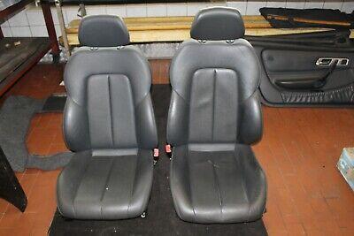 Elektrisch Verstellbare Leder (Mercedes-Benz, SLK R 170, Sitze Leder anthrazit elektrisch verstellbar)